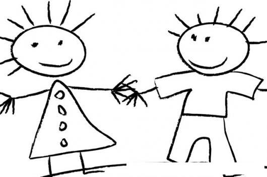 Dibujo De Mama Y Papa Para Pintar Y Colorear Colorear Dibujos De