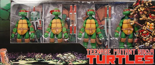 NECA TMNT - Box set // Standard [[Courtesy of Steve Murphy and Randy @ NECA]]