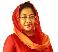 นางเมกาวาตี ซูการ์โนบุตรี : ประธานาธิบดีแห่งอินโดนีเซีย