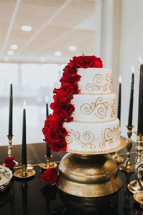 Best 20  Red wedding cakes ideas on Pinterest