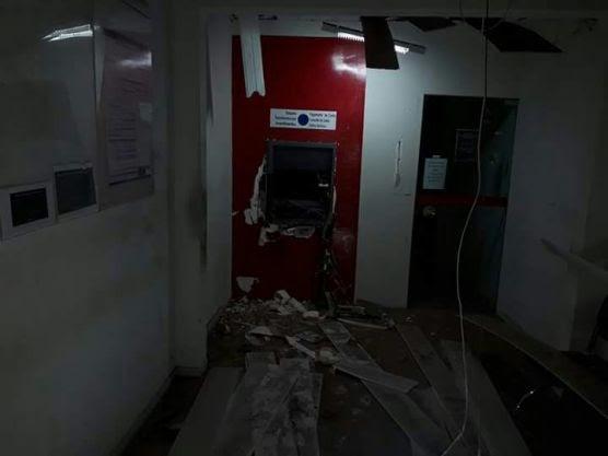 Mais uma agência bancária é explodida no Cariri Paraibano