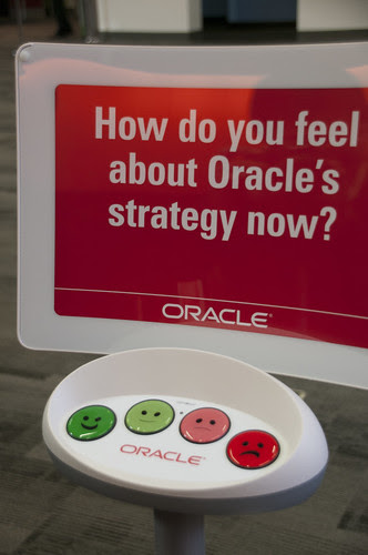 """""""How do you feel about Oracle's strategy now?"""", JavaOne 2013 San Francisco"""