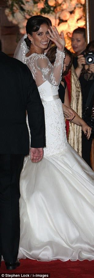 Frank Lampard and Christine Bleakley's winter wedding