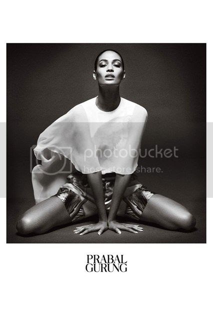 Joan Smalls For Prabal Gurung New Campaign
