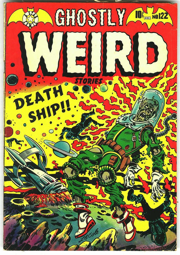 Ghostly Weird Stories #122 (Star, 1954)