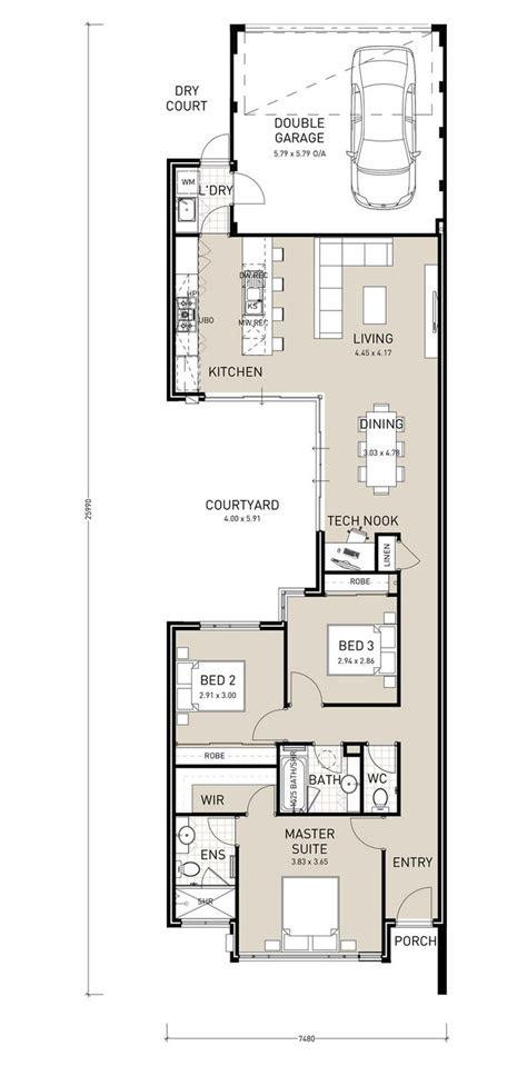 bildergebnis fuer  storey narrow house plans house plans