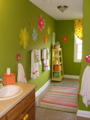 15 Cheerful Kids Bathroom Design Ideas | Shelterness