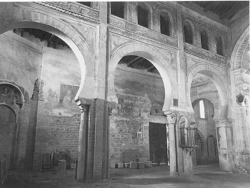 Iglesia de San Román tras la restauración de 1940. Foto Rodríguez