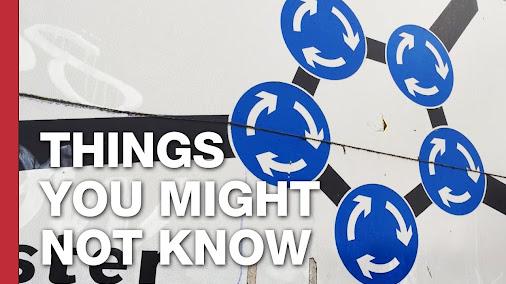 The Magic Roundabout: Swindon's Terrifying Traffi…: http://youtu.be/D22BOOGbpFM
