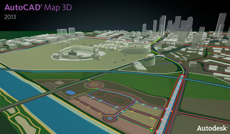 AutoCAD Map 3D 2013 Build G.55.00 (x64)