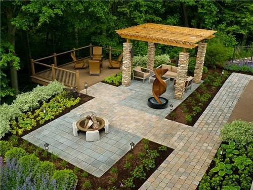 Inexpensive ideas for small backyard