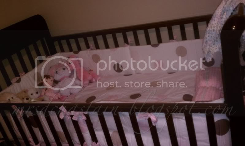 Pink and Brown Polka-dot Nursery