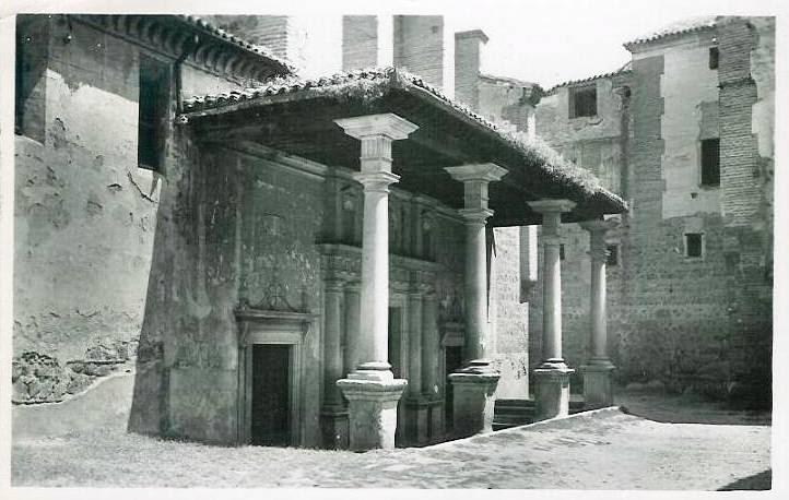 Convento de Santo Domingo el Real a comienzos del siglo XX