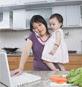 woman reporting foodborne illness on phone