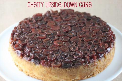 Food Librarian - Fresh Cherry Upside-Down Cake