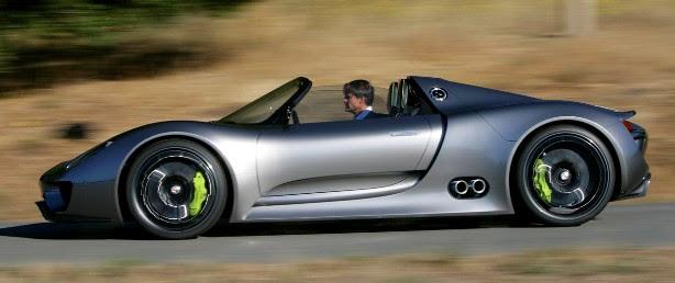 Harga Mobil Porsche 918 Spyder