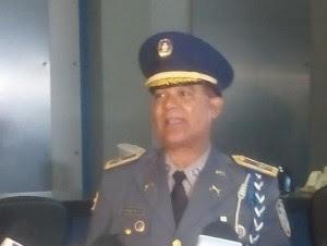 El vocero de la Policía, coronel Jacobo Mateo Moquete.