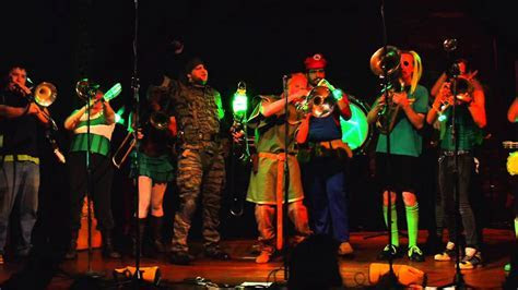 """D20 Brass Band   Live recording Party  """"Jungle Boogie"""
