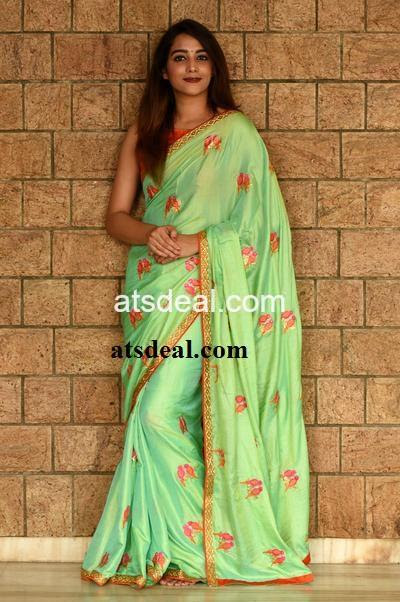 Designer saree collections-zari-free world