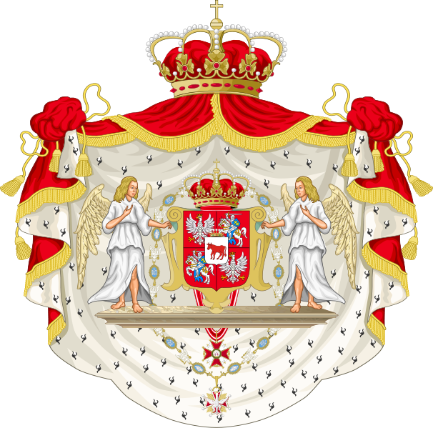File:Coat of Arms of Stanislaus Augustus as king of Poland.svg