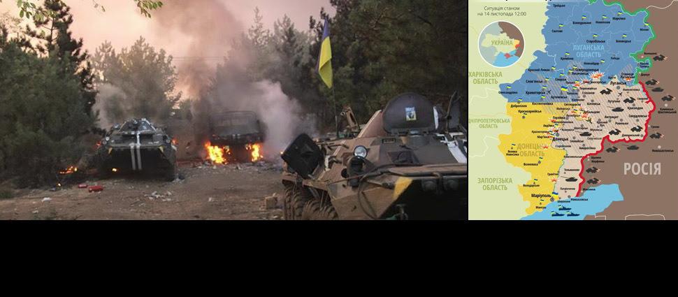 Zabici i ranni w Donbasie. Ukraińcy ostrzelani 62 razy w ciągu doby