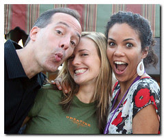 Steve, Amanda and Zadi