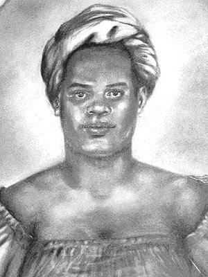 Maria Felipa comandou mulheres que conseguiram expulsar tropas portuguesas da Ilha de Itaparica (Foto: Filomena Modesto Orge/Arquivo Público do Estado da Bahia)