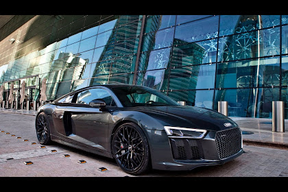 2018 Audi R8 Blacked Out