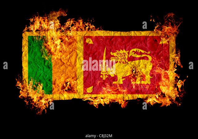 Image result for burning sri lanka