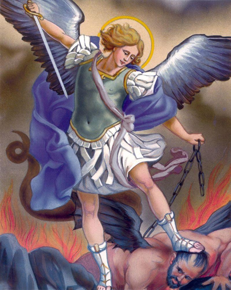 Resultado de imagem para arcanjo Miguel
