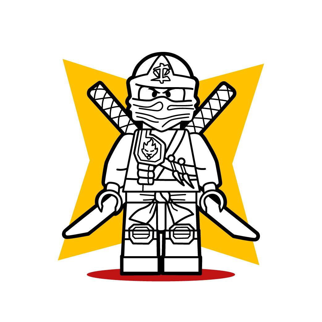 Cube Ninja Tuto de dessin Le Lego Ninja de Ninjago