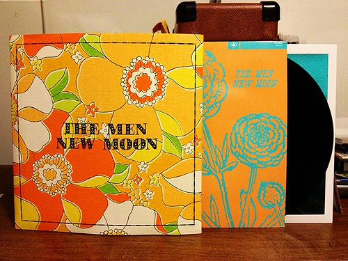 The Men - New Moon LP - Screened Cover (/350) by Tim PopKid