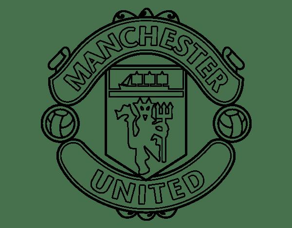 Escudo de manchester united para colorear - Imagui