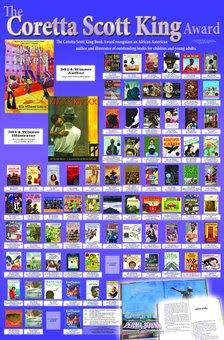 Coretta Scott King Medal Winners Poster 1970-2014