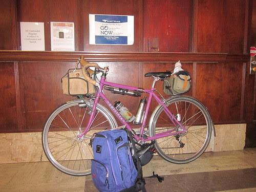Sweetpea in Union Station, Portland