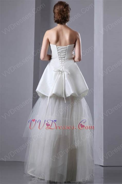 Beautiful V Shaped Strapless Corset Make Your Own Wedding