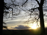 Sunset from Gallow Hill