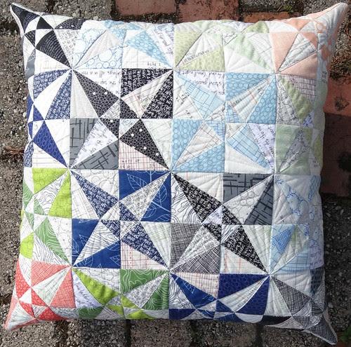 Reflected Textures Pillow