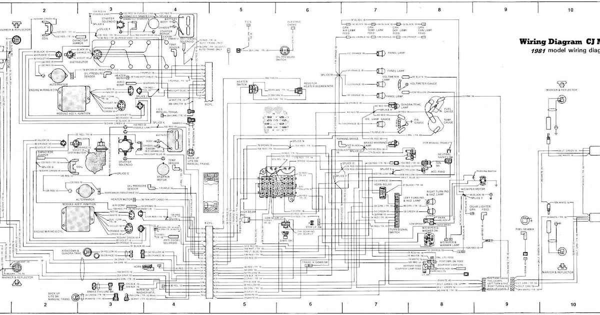 diagram of 1982 jeep cj7 engine