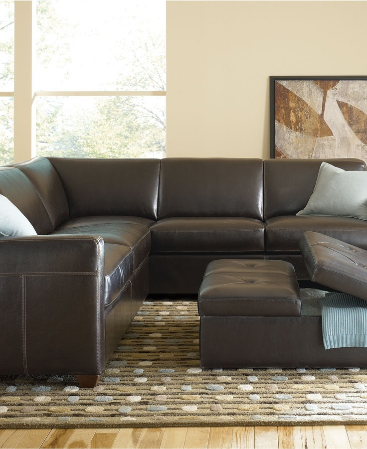 Lucas Living Room Furniture Sets & Pieces, Sectional    Living room