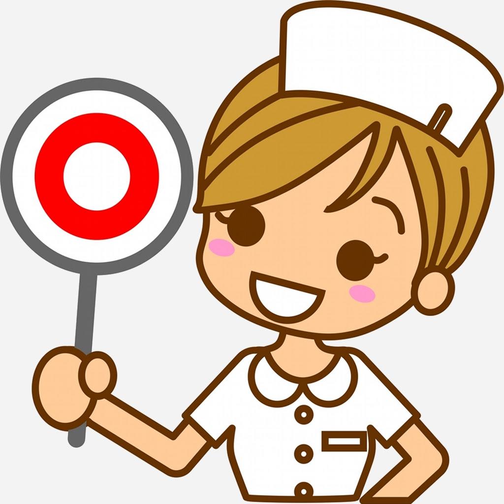 画像 看護婦のかわいいイラスト素材まとめ看護師 Naver まとめ