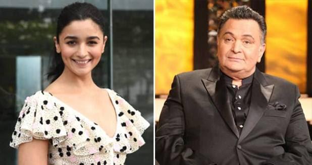 Rishi Kapoor says Ranbir, Neetu and including him like Alia Bhatt