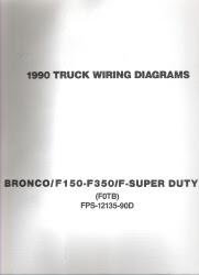 1990 Ford Bronco, F150 thru F350, F-Super Duty -Truck ...