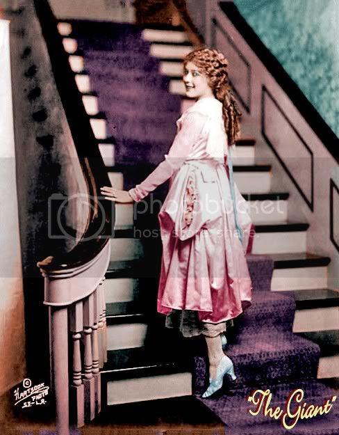 mary pickford color photo