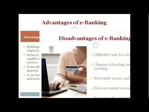 My E-banking Presentation in BBA Second Semester