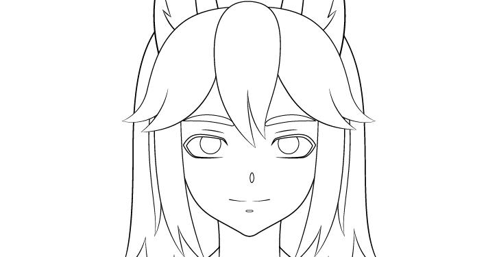 Anime Wolf Girl Drawing Easy