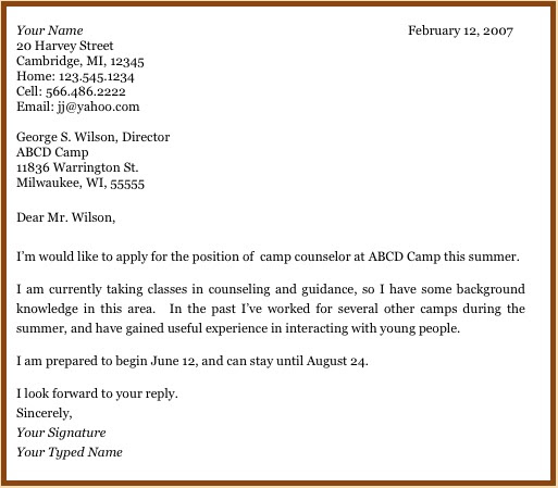 Application Letter Sample: Harvard Law Cover Letter Sample