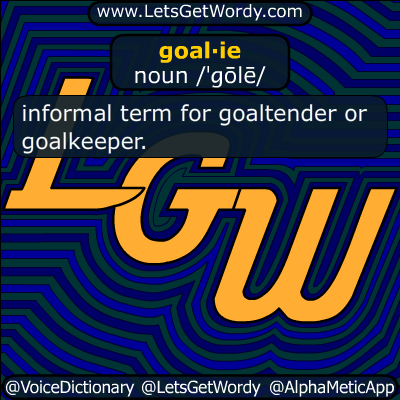 goalie 04/28/2015 GFX Definition
