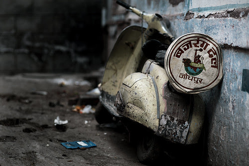 The indian Vespa