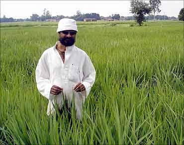 Prakash Singh in his field.